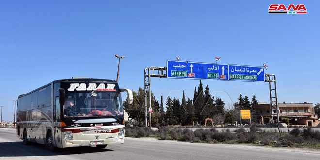 İdlib'te Kurtarılan Otoban Böyle Görüntülendi