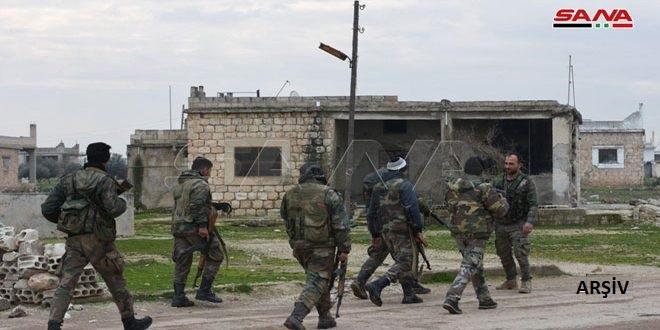 Ordu Birlikleri Hama'nın Kuzeybatısında ve İdlib'in Güneybatısında Bulunan Bölgesinde Büyük İlerleyiş Kaydetti