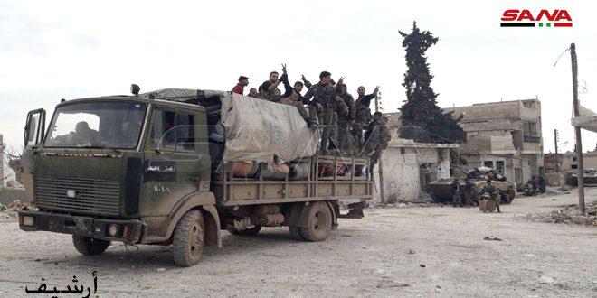 Ordu Kefr Nubbol ve İdlib'in Güney Kırsalında 4 Köyü Kurtardı