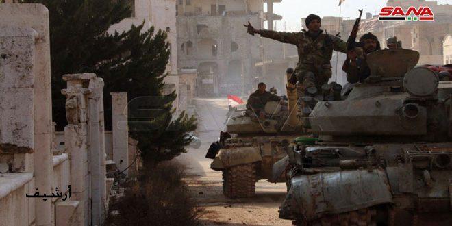 Ordu Birlikleri Halep ve İdlib Kırsallarında Teröre Karşı Operasyonları Yoğunlaştı