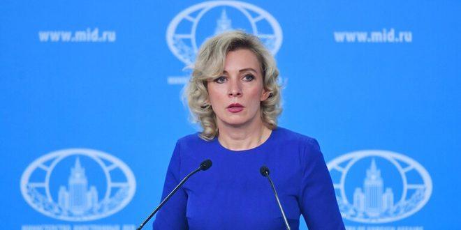Zaharova: KSYÖ'nün Suriye'yle İlgili Raporu Uluslararası Yasaları İhlal Ediyor ve Batılı Emirlerle Geldi