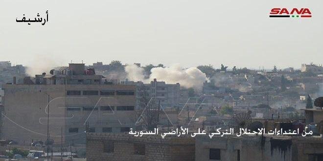 Türk İşgal'in Paralı Askerleri Haseke Kırsalı Köylerinin Evlerini Ateşe Verdi