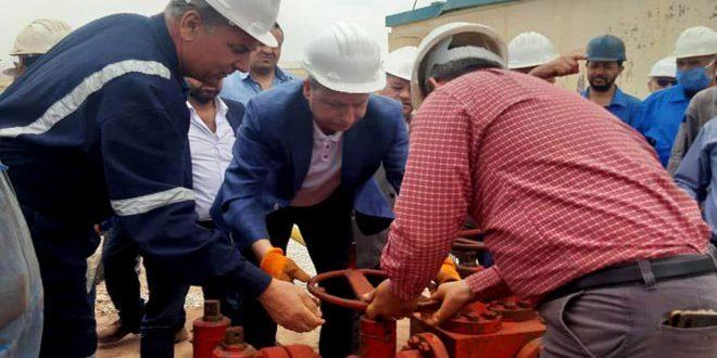 Kara 8 Kuyusu Hizmete Girdi.. Ganim: Petrol İşçileri En Zor Şartlara Meydan Okuyarak İşlerini Sürdürüyor