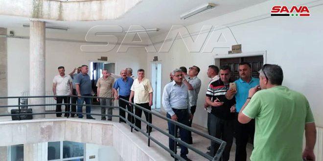 Haseke'deki Tahıl Kurumunun İşçileri Yeniden İşyerlerine Sahip Oldu