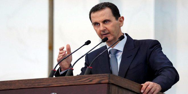 Cumhurbaşkanı Beşar el Esad Halk Meclisi Üyelerine: Şerefli Meclisinizin Seçilmesi, Halkımız Kalemleri ve İradesiyle Savaşın Bu Aşamasında Yazdığı Tarihi Bir Noktadır
