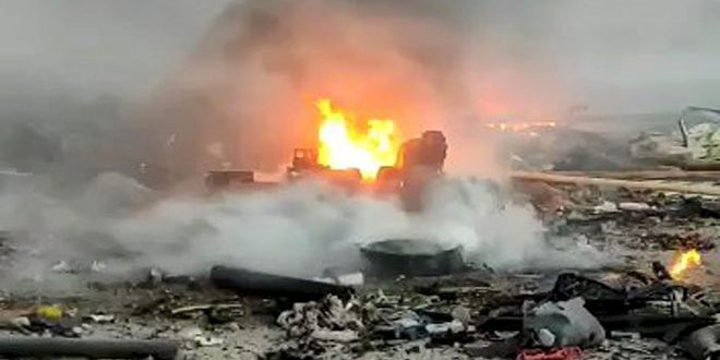 Rasul Ayn'da Tuzaklanmış Araç İnfilak Etti.. 2 Çocuğun Bulunduğu 7 Sivil Şehit Düştü