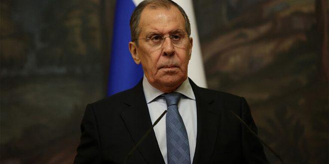 Lavrov, Rusya'nın Suriye'ye Dayatılan Tek Taraflı Zorlu Yaptırımlarının Reddettiğini Yineledi