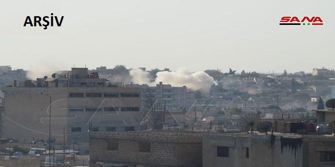 İşgalci Türkiye Kuvvetleri Rakka Kuzey Kırsalındaki Ayn İsa Beldesine Top Mermileriyle Saldırı Düzenledi