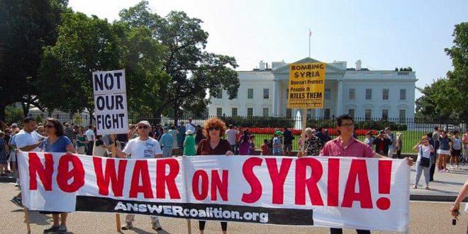 Amerikan Düşünür, Amerika'nin Suriye'ye Karşı İşlediği Suçların Açığa Çıkarmasına Davet Ediyor