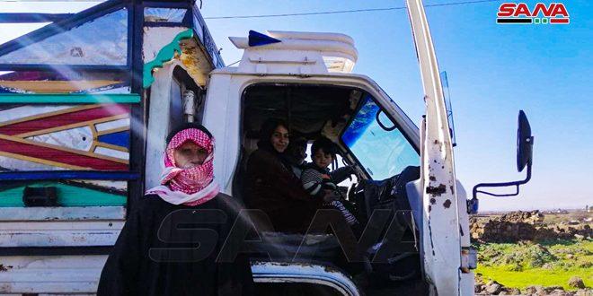 40 Fazla Aile Terörden Kurtarılan Dera Kırsalındaki Köylerine Döndü