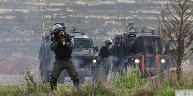 Batı Yakada Birkaç Filistinli Genc Yaralı Düştü
