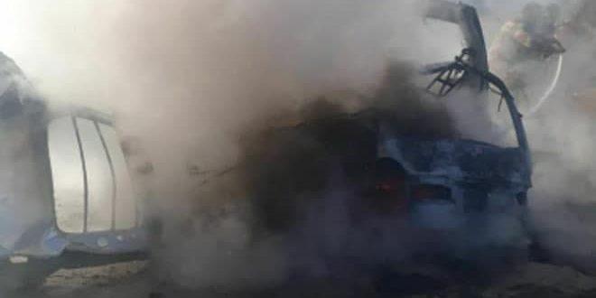 Deyrezzor Kırsalında bomba düzeneği Patladı, 3 Silahlı Öldü