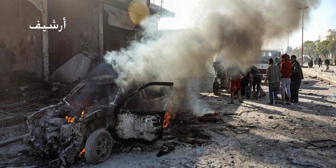 Tel Abyad Kentinde İntihar Saldırısında Birkaç Sivil Yaralandı