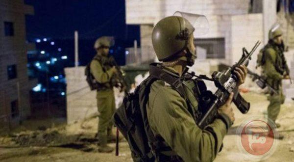 İşgalci İsrail Güçleri, Batı Yaka'nın Farklı Bölgelerinde 9 Filistinliyi Tutukladı