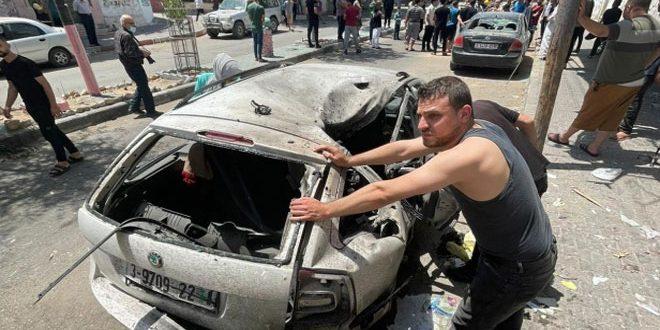 İsrail'in Gazze'ye Yönelik Saldırları Sonucu 14'ü Çocuk 53 Şehit
