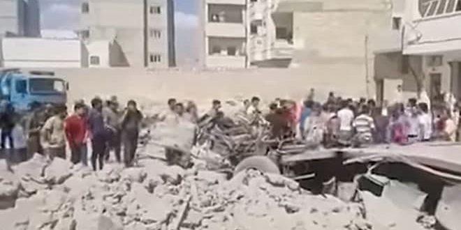 Halep Kırsalı El Bab'da Tuzaklanmış Bir Kamyonun Patlaması Sonucu 9 Kişi Yaralandı