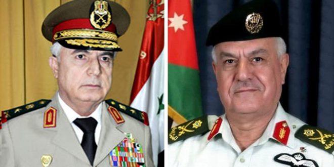 Ürdün Genelkurmay Başkanı'nın Daveti üzerine General Eyyüb Ürdün'e Resmi Bir Ziyarette Bulundu
