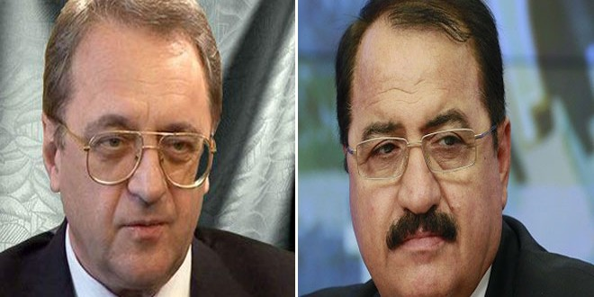 Bogdanov, Büyükelçi Haddad İle Suriye'deki Gelişmeleri Görüştü