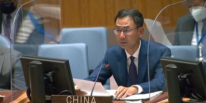 Çin Terörle Mücadelede Suriye'ye Desteğini Yeniledi