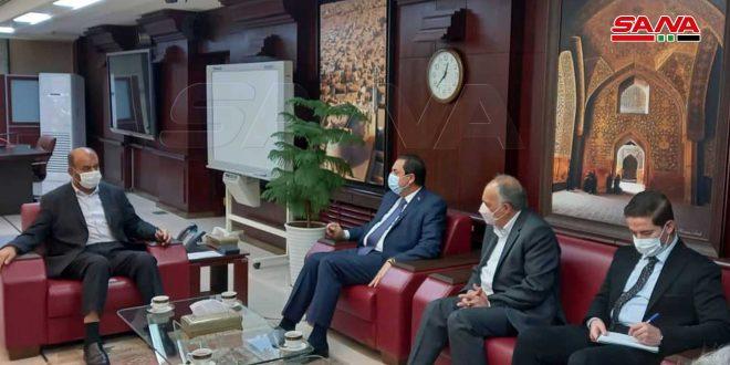İki Ülke Arasındaki Stratejik İşbirliğini Geliştirmek İçin Suriye-İran Görüşmeleri