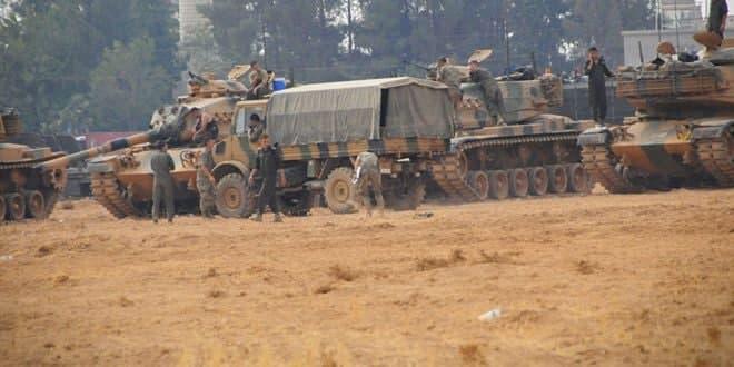 İşgalci Türkiye'den Paralı Kiralıklarını Desteklemek İçin Askeri Takviye Gönderiyor