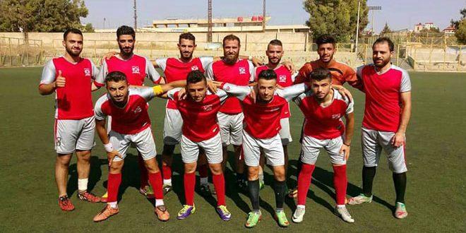 فوز رجال الثعلة على شباب العربي في مباراة ودية بكرة القدم