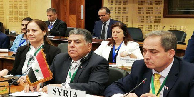 سورية تشارك بأعمال الندوة الإقليمية حول أهداف التنمية المستدامة