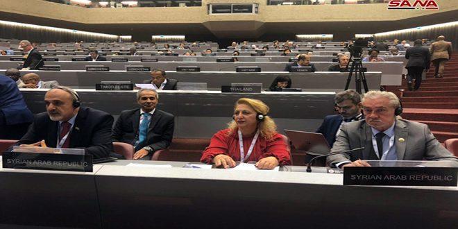 اجتماعات الاتحاد البرلماني الدولي تواصل أعمالها بمشاركة سورية