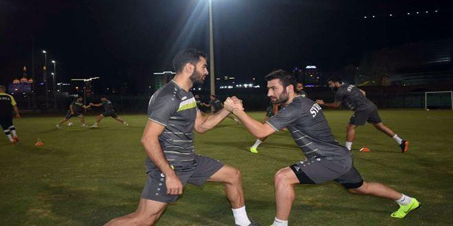 منتخب سورية لكرة القدم ينهي استعداداته للقاء نظيره العماني غدا