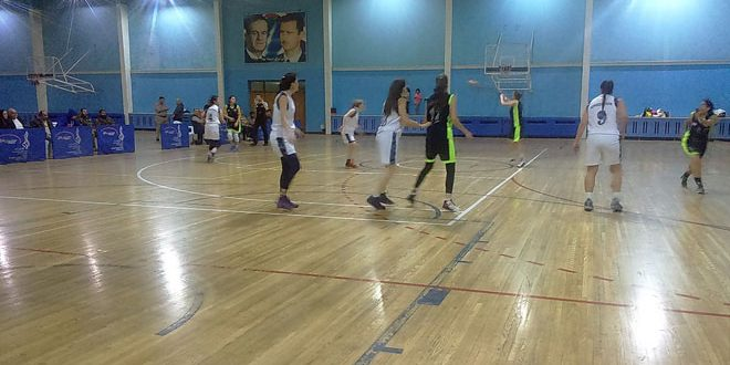 قاسيون يفوز على الفيحاء في كأس الجمهورية بكرة السلة للسيدات