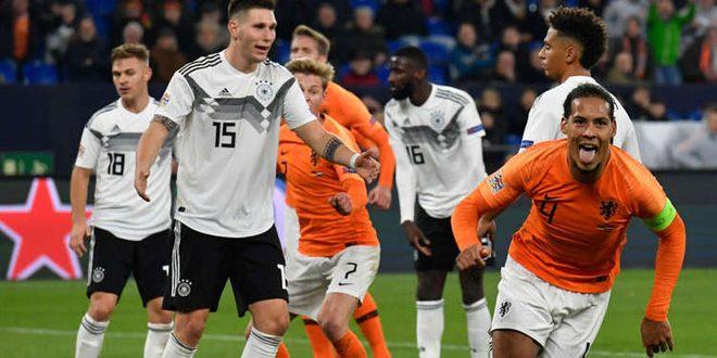 هولندا تتأهل إلى الأدوار النهائية بدوري الأمم الأوروبية