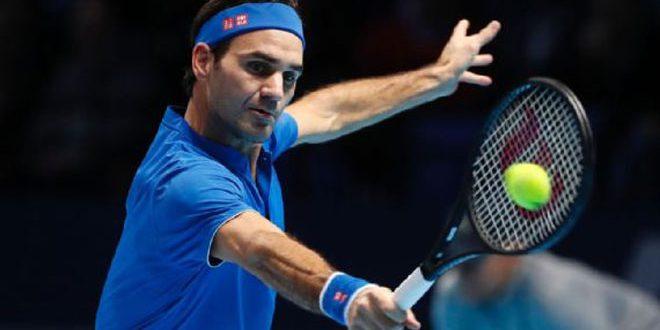 فيدرر إلى نصف نهائي البطولة الختامية لموسم التنس