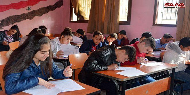 3 آلاف طالب إلى تصفيات المرحلة الثالثة من منافسات الأولمبياد العلمي السوري