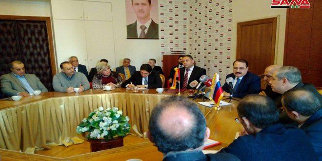 الجالية السورية في روسيا تحيي الذكرى الـ48 للحركة التصحيحية
