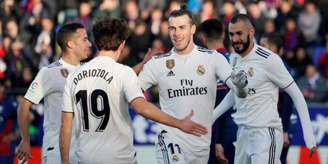 هدف بيل يمنح ريا ل مدريد فوزا صعبا على هويسكا المتعثر