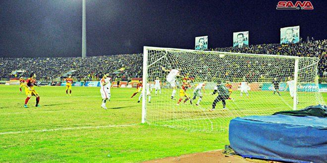 الجيش يتغلب على الشرطة وتعادل تشرين والاتحاد في دوري كرة القدم