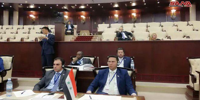 وفد مجلس الشعب في مؤتمر البرلمانيين الشباب: سورية حافظت على التعليم المجاني رغم الحرب