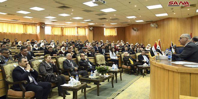 63 بحثا في مؤتمر (مساهمات اقتصادية في إعادة بناء سورية)