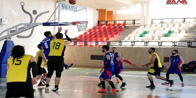 فوز العربي على العروبة في دوري كرة السلة للرجال