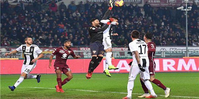 يوفنتوس يفوز على غريمه تورينو بالدوري الإيطالي