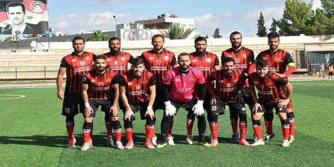 الجيش يتصدر مؤقتا ترتيب الدوري السوري الممتاز لكرة القدم