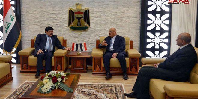 مباحثات سورية عراقية لتطوير التعاون الاقتصادي والتجاري