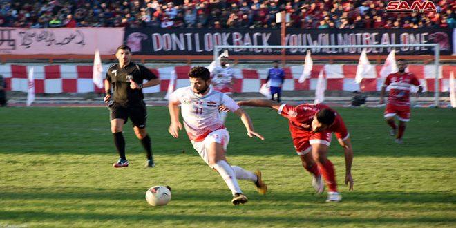 الجيش يتغلب على الشرطة والطليعة على الوثبة في الدوري الممتاز لكرة القدم