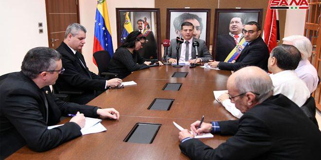 السفير الفنزويلي بدمشق:استفدنا من تجربة سورية في مواجهة المؤامرات