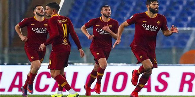 روما يسقط جنوى بثلاثية في الدوري الإيطالي