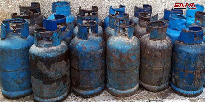 مديريات التجارة الداخلية تواصل ضبط المتلاعبين بمادة الغاز