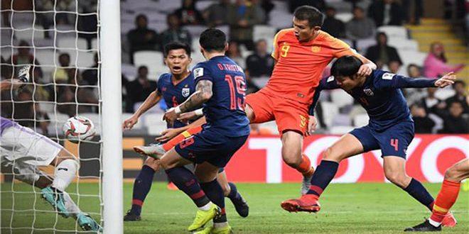 الصين إلى دور الثمانية على حساب تايلاند في كأس آسيا