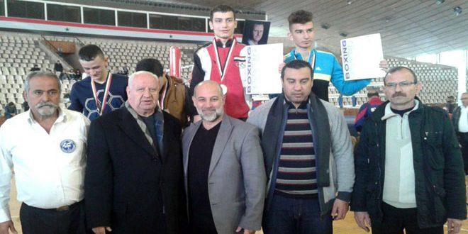 منتخب حلب للملاكمة يتصدر الترتيب العام في بطولة الجمهورية للشباب