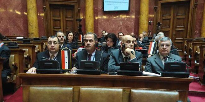 بمشاركة سورية.. اختتام أعمال الجمعية البرلمانية للمتوسط