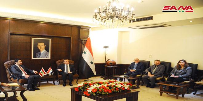 مباحثات سورية لبنانية حول سبل تأمين عودة المهجرين السوريين